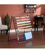 Gift Wrapping Center Paper Organizer Storage Station Easel Rack Craft Di... - $77.49