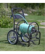Hose Reel 2 Wheel Garden Hose Cart Yard Waterin... - $158.49