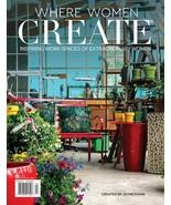 NEW! Where Women Create Magazine April/May 2020 SHIP FREE WORK SPACES - $15.79