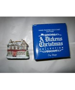 VTG A Dickens Christmas Collection Toy Shoppe w/box Taiwan handpainted - $14.84