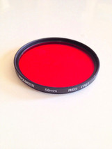 Genuine Tiffen 58mm Red (R2) Lens Filter Video ... - $21.62