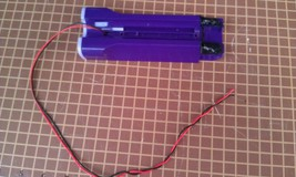 """9 J11 Battery Holder (4x Aa) From Floor Cleaner, 6 1/2"""" X 2 1/2"""" X 1"""" +/ , Gc - $9.00"""