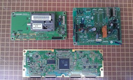 9M16 SET OF 3 CIRCUIT BOARDS FROM TOSHIBA 32HL66 TV, VERY GOOD CONDITION - $39.65