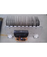 "9I86 STEREO AMP IC #STK405-070A WITH HEAT SINK, 6"" x 3-1/2"" X 2-1/2"" +/-... - $19.66"