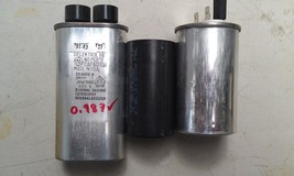 9L62 ASSORTED CAPACITORS: 250V/40MF/40.0, 2100V/0.97MF/0.987, ??/??/?? VGC - $19.00