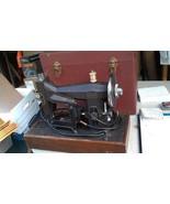 9J71 KENMORE 117.552 SEWING MACHINE: MOTOR WORKS, SPEED CONTROLLER WORKS - $99.00