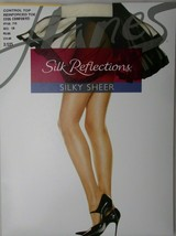Pantyhose Hanes Silk Reflections Control Top Reinforced Toe Pearl Size CD - $7.87