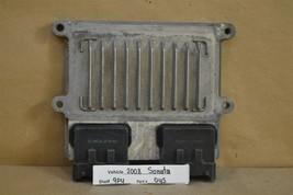 2006-2008 Hyundai Sonata 3.3L Engine Control Unit ECU 391103C760 Module 45 9P4 - $13.85