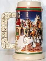 1998 Budweiser Holiday Stein Grant's Farm Holiday CS343 1997 Anheuser-Bu... - $29.69