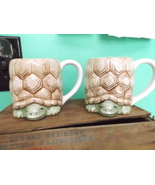 Turtle Mugs 3D from Otagiri designed by Mary Ann Baker (pair) - $30.00