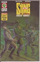 Now Comics Sting Of The Green Hornet #3 Part 3 of 4 Giant Poster Inside ... - $3.75