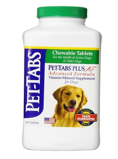 PET-TABS Plus Dog Multivitamins Chewable 180 ct Pet Health Care FREE SHIPPING - $38.60