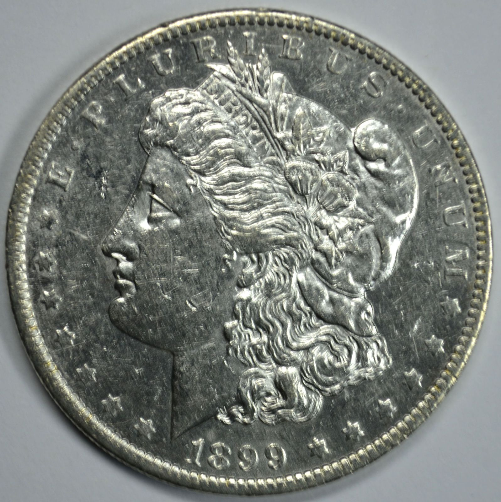 Primary image for 1899 O Morgan silver dollar XF details