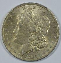 1882 O Morgan silver dollar AU details - $57.00
