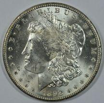 1898 O Morgan silver dollar AU details - $62.00