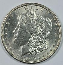 1900 P Morgan silver dollar AU details - $50.00
