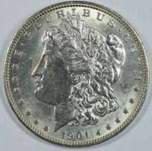 1901 O Morgan silver dollar AU details - $62.00
