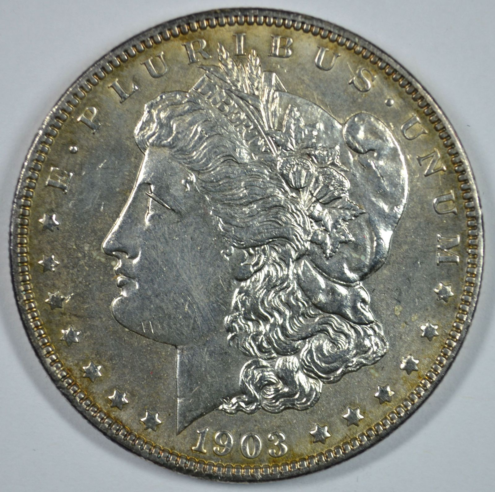 Primary image for 1903 P Morgan silver dollar AU details