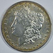 1903 P Morgan silver dollar AU details - $60.00