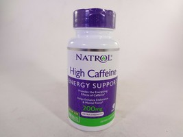 Natrol High Caffeine Energy Support 200mg 100 Tablets [VS-N] - $10.40