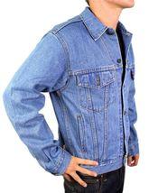 Levi's Men's Premium Classic Cotton Button Up Denim Jean Jacket 705070389 image 4