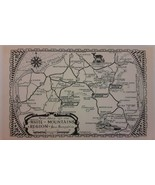 ROAD MAP OF THE CENTRAL WHITE MOUNTAINS REGION OF NEW HAMPSHIRE 1922 - $9.89