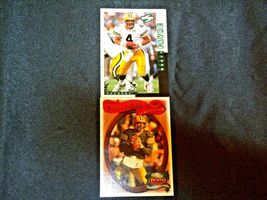 Brett Farve # 4 Green Bay Packers QB Football Trading Cards AA-19 FTC3002 Vintag image 11