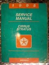 95 Cirrus Stratus Dealership Shop Service Repair Manual - $47.99