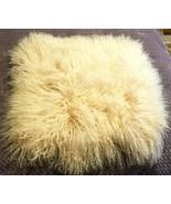 William Sonoma MONGOLIAN LAMBSWOO 20X20 BLUSH Lumbar Pillow Cover GORGEO... - $79.00