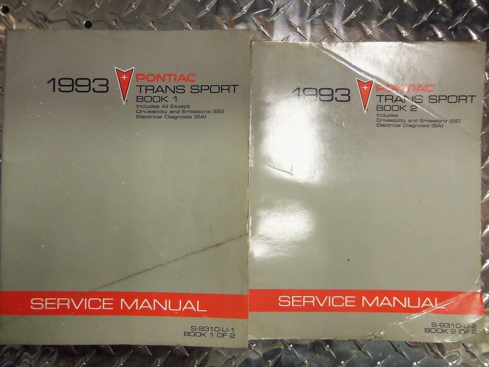 service manual  1993 chevrolet apv engine factory repair