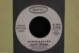Duffy Power Hellbound b/w Hummingbird White Label Promo Copy 45-rpm Record - $7.99
