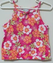 Toddler Girls Circo Multi Color Flower Tank Top Size 4T - $3.95