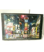 NYC Iconic Billboards TIMES SQUARE PARADE Puzzle Alexander Chen SEALED 1... - $32.62