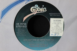 Ricky Skaggs & Sharon White Love Can't Ever Get Better Than This 45-rpm ... - $7.99