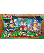 Little People Christmas Video Gift Set  NIB  Fisher Price 2003 - $29.00