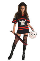 Sexy Miss Voorhees Womens Halloween Costume Dress - £39.13 GBP