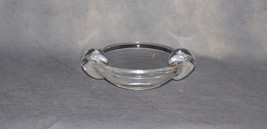 Steuben Glass Ashtray Small Bowl Applied Rests Designed by David Hills 1950 - $75.00