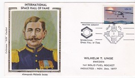 WILLIAM UNGE SPACE HALL OF FAME ALAMOGORDO NM NOV 3 1977 COLORANO SILK  - $2.98