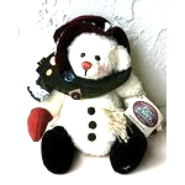 "Primary image for Ganz Cottage Collectibles""MAMA SNOWDOM"" #CC1157- 11"" Bear- Artist Lorraine Chien"