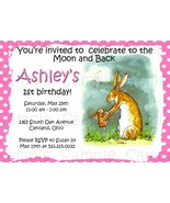 Custom Guess how much i love you birthday/baby shower invitation: Printable - $9.99