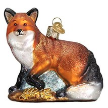 Old World Christmas Glass Blown Ornament with S-Hook and Gift Box, Forest Animal - $37.92