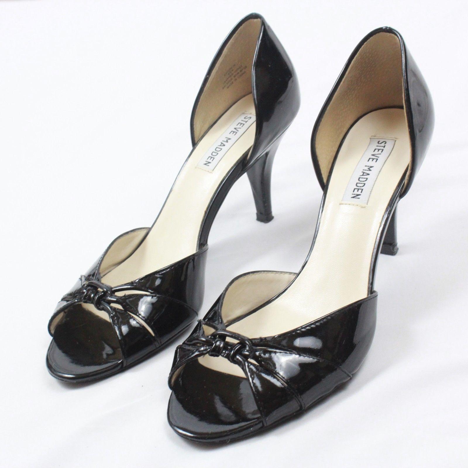 9b6a82e3723 Steve Madden Womens Open Toe Heels Patent and 50 similar items