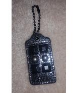 Coach Kristin studded silver metallic leather h... - $20.00