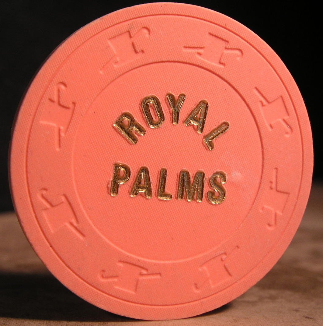 "Primary image for $0.50 Casino Chip From: ""The Royal Palms"" - (sku#2671)"