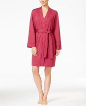 Charter Club French Terry Kimono Robe in Winter Ruby, XL - ₨2,368.58 INR