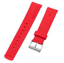 Nautica Men's NAI13502G | NAD13502G NST 07 Red 22mm Original Watchband |... - $18.52