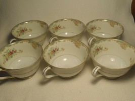 VINTAGE MONARCH CHINA CORONADO DINNERWARE TEA CUPS JAPAN SET 6 - $19.79