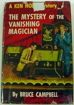 Ken Holt no.12 Mystery of the Vanishing Magician 1st Edition hcdj Bruce ... - $26.00