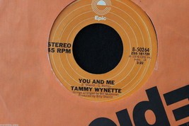 Tammy Wynette When Love Was All We Had b/w You And Me #8-50264 45-rpm Re... - $7.99