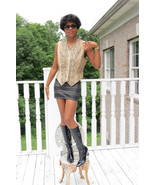 New custom Designer Carlo Fagian Snakeskin  Vest Sleeveless coat Jacket ... - $899.99